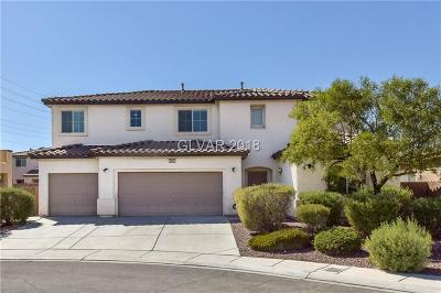 North Las Vegas Single Family Home Under Contract - No Show: 6009 Golden Sun Court