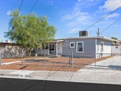 HENDERSON Single Family Home For Sale: 206 Gold Street