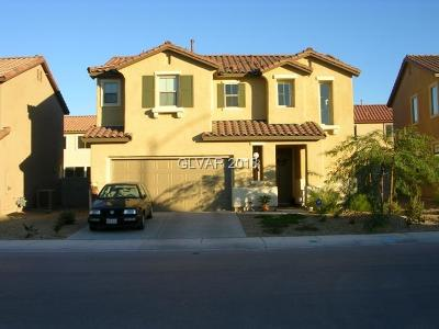 North Las Vegas Single Family Home For Sale: 1932 Basilwood Court