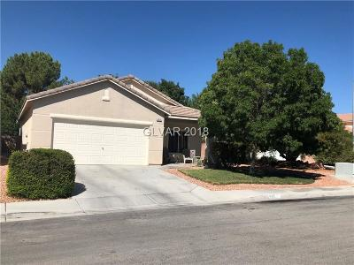 North Las Vegas Single Family Home Under Contract - No Show: 6315 Spice Stone Court