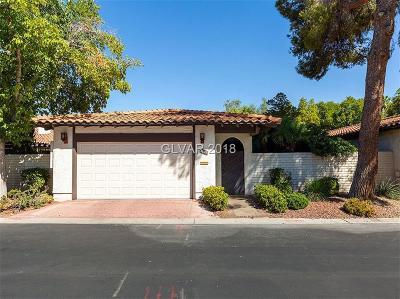 Las Vegas Single Family Home For Sale: 2009 Plaza Del Padre
