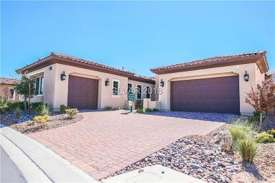 Las Vegas Single Family Home For Sale: 11331 Lago Augustine Way
