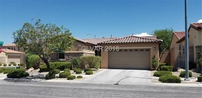 Las Vegas Single Family Home Under Contract - No Show: 7620 Turquoise Stone Court