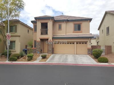 North Las Vegas Single Family Home For Sale: 8229 Briggs Gully Street