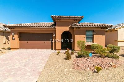 Henderson Single Family Home For Sale: 1042 Via Saint Andrea Place