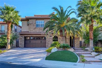 Las Vegas Single Family Home For Sale: 212 Crooked Putter Drive