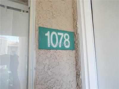 Las Vegas Condo/Townhouse Under Contract - No Show: 6800 Lake Mead Boulevard #1078