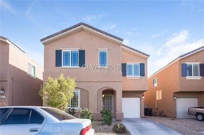 Las Vegas NV Single Family Home Under Contract - No Show: $227,000