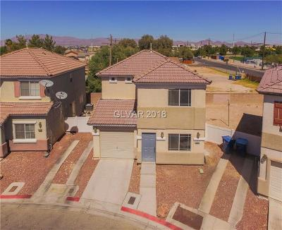 Las Vegas Single Family Home For Sale: 5282 Paradise Skies Avenue
