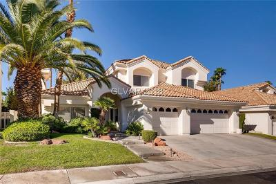 Las Vegas Single Family Home For Sale: 8108 Bay Harbor Drive