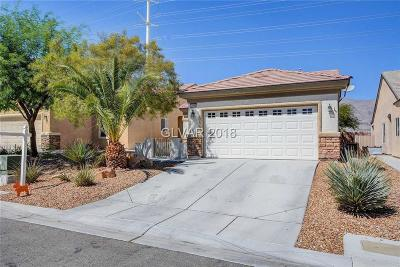North Las Vegas Single Family Home For Sale: 2908 Ground Robin Drive
