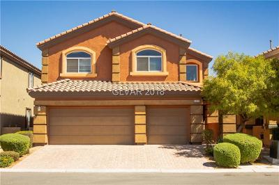 North Las Vegas Single Family Home For Sale: 6820 Big Bend Ranch Street