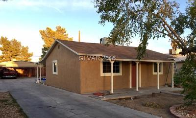 Las Vegas Single Family Home For Sale: 1030 June Avenue