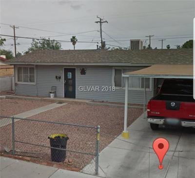 Las Vegas NV Single Family Home For Sale: $170,000
