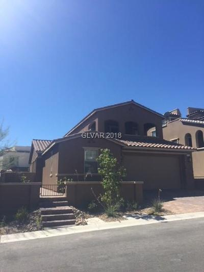Las Vegas NV Single Family Home For Sale: $494,000
