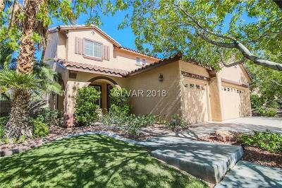 Henderson Single Family Home For Sale: 1014 Arroyo Vista Terrace