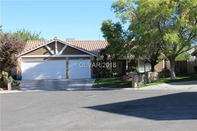 Las Vegas Single Family Home For Sale: 1470 Covelo Court