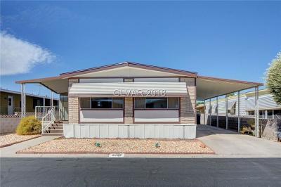 Las Vegas Manufactured Home For Sale: 5066 Ridge Drive