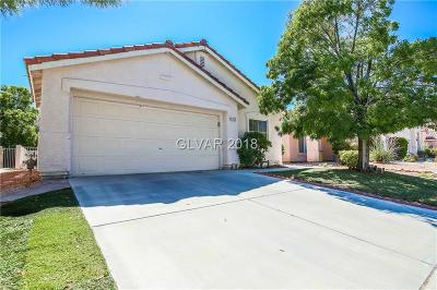 North Las Vegas NV Single Family Home Under Contract - No Show: $219,990