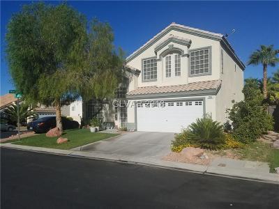 Las Vegas Single Family Home For Sale: 4760 Crakow Ct Court