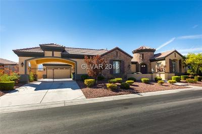 Las Vegas Single Family Home For Sale: 5027 Crown Cypress Street