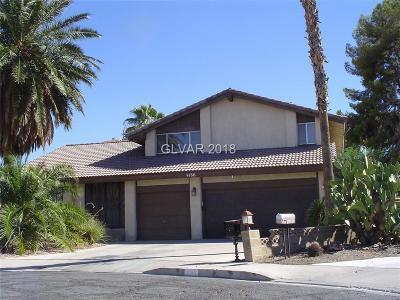 Las Vegas Single Family Home For Sale: 4186 Franciscan Court