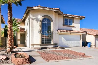 Las Vegas NV Single Family Home For Sale: $309,000