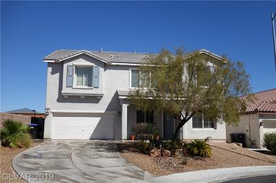 North Las Vegas Single Family Home For Sale: 4316 Malibu Palm Court