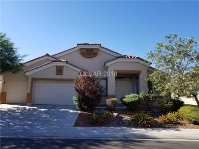 North Las Vegas Single Family Home For Sale: 3019 Tanagrine Drive