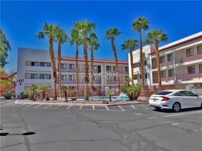Henderson, Las Vegas Condo/Townhouse For Sale: 1381 East University Avenue #209