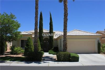 Las Vegas Single Family Home For Sale: 4718 Atlantico Street