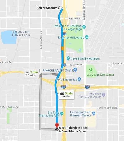 Las Vegas Residential Lots & Land For Sale: Robdale Dean Martin