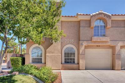 Las Vegas Condo/Townhouse For Sale: 9608 Lame Horse Drive