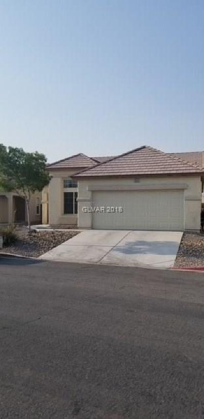 North Las Vegas Single Family Home For Sale: 3940 Fragrant Jasmine Avenue