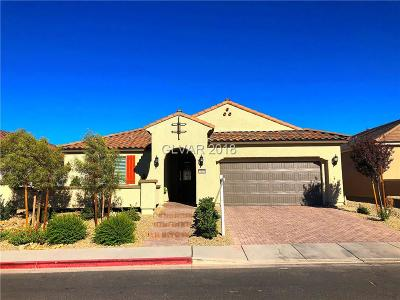 Henderson Single Family Home For Sale: 1168 Scenic Edge Street