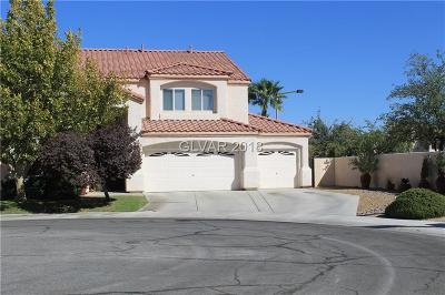 Las Vegas Single Family Home For Sale: 1600 Tamborine Court