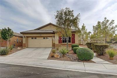 North Las Vegas Single Family Home For Sale: 3737 Rocklin Peak Avenue