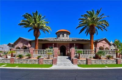 Las Vegas Single Family Home For Sale: 2908 Coast Line Court