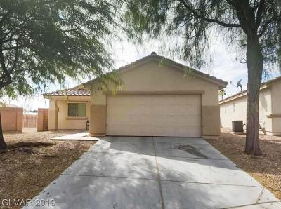 North Las Vegas Single Family Home For Sale: 229 Gladiator Sword Court
