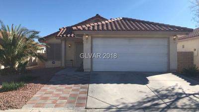 Las Vegas Single Family Home For Sale: 4688 Belshire Drive