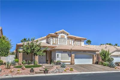 Las Vegas Single Family Home For Sale: 9718 Camino Capistrano Lane