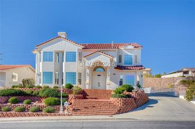 Boulder City Single Family Home For Sale: 512 Pacifica Way
