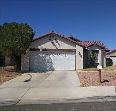 Las Vegas Single Family Home Under Contract - No Show: 3995 Zapotec Way