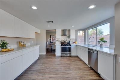 Las Vegas Single Family Home For Sale: 5640 Twain Avenue