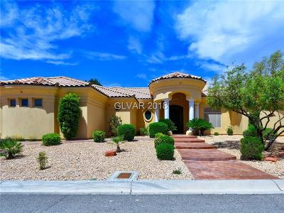 Las Vegas Single Family Home For Sale: 3215 Costa Smeralda