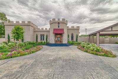 Las Vegas Single Family Home For Sale: 500 Rancho Circle