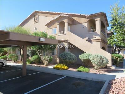 Las Vegas Condo/Townhouse For Sale: 5750 Hacienda Avenue #110