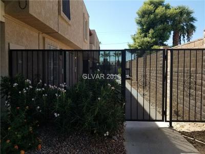Las Vegas Condo/Townhouse For Sale: 6321 Washington Avenue