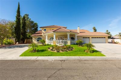 Las Vegas Single Family Home For Sale: 1900 Realeza Court