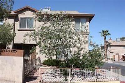 Las Vegas Condo/Townhouse For Sale: 3831 Terrazzo Avenue